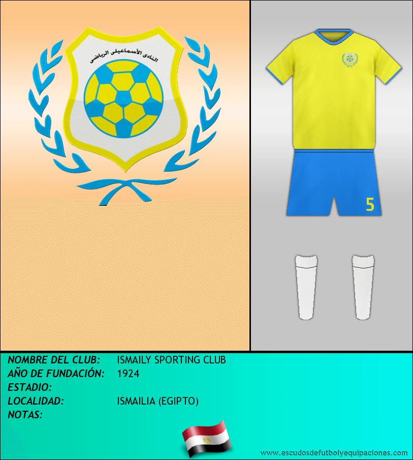 Escudo de ISMAILY SPORTING CLUB