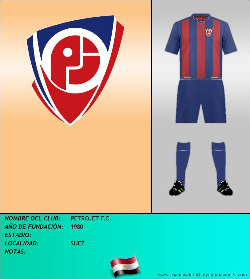 Escudo de PETROJET F.C.