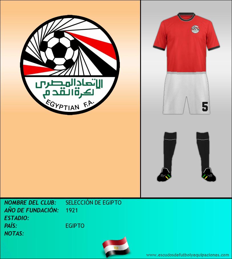 Escudo de SELECCIÓN DE EGIPTO