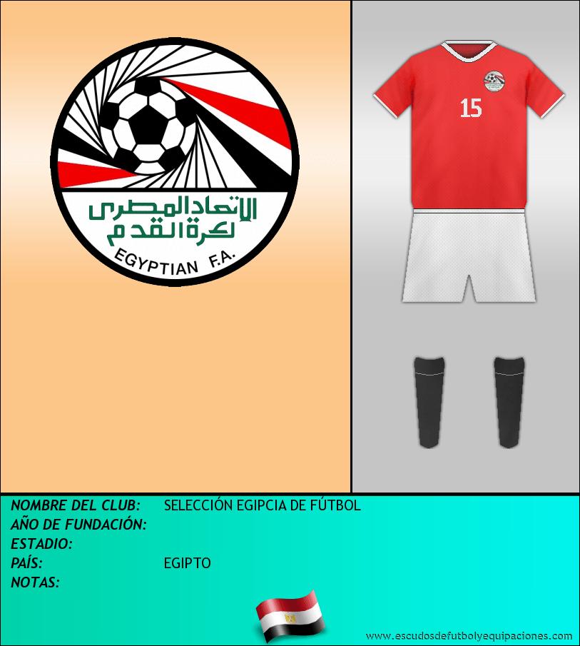 Escudo de SELECCIÓN EGIPCIA DE FÚTBOL