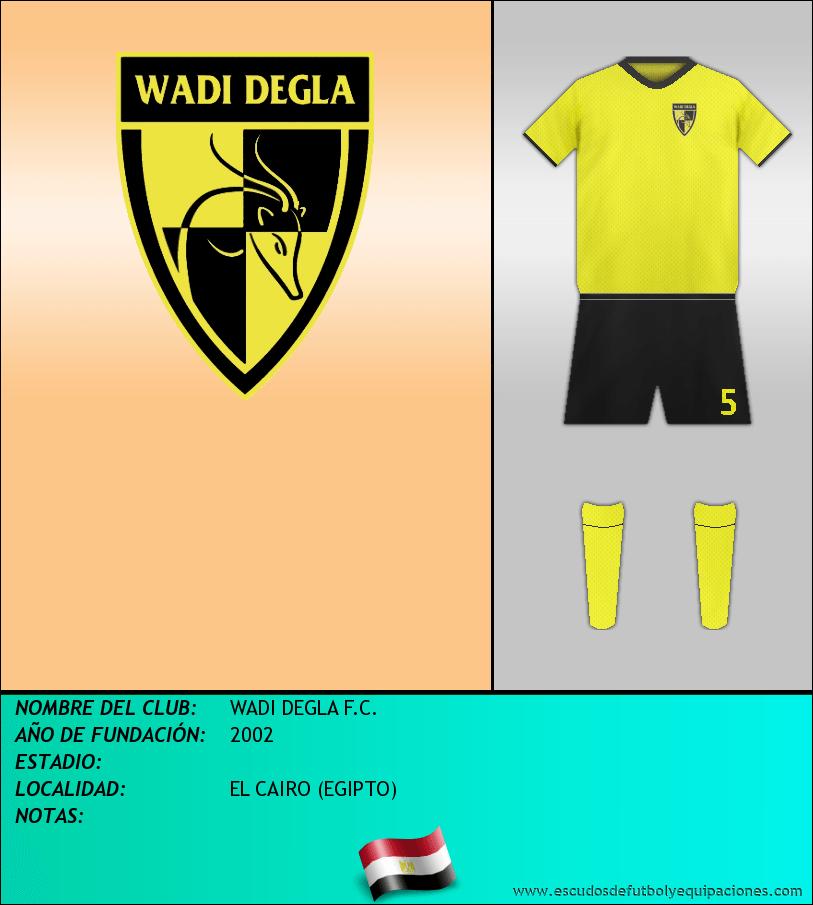 Escudo de WADI DEGLA F.C.