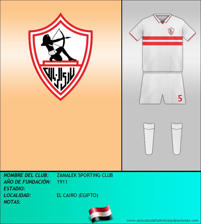 Escudo de ZAMALEK SPORTING CLUB