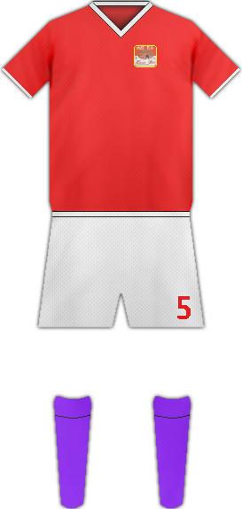 Equipación HARRAR BEER BOTLING FC