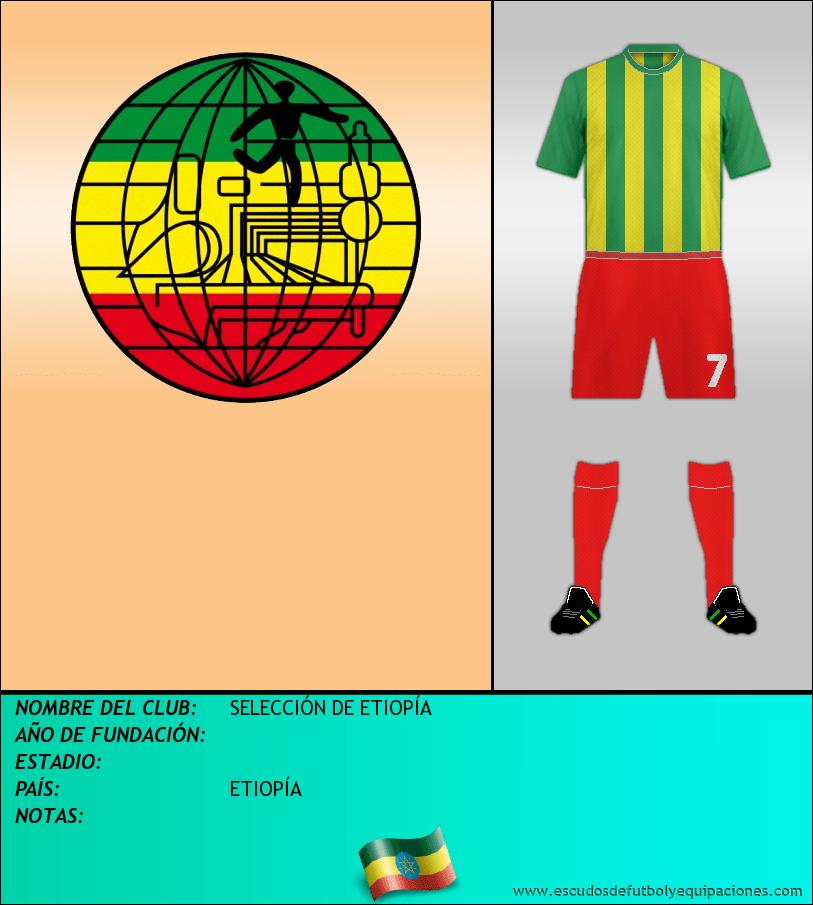 Escudo de SELECCIÓN DE ETIOPÍA