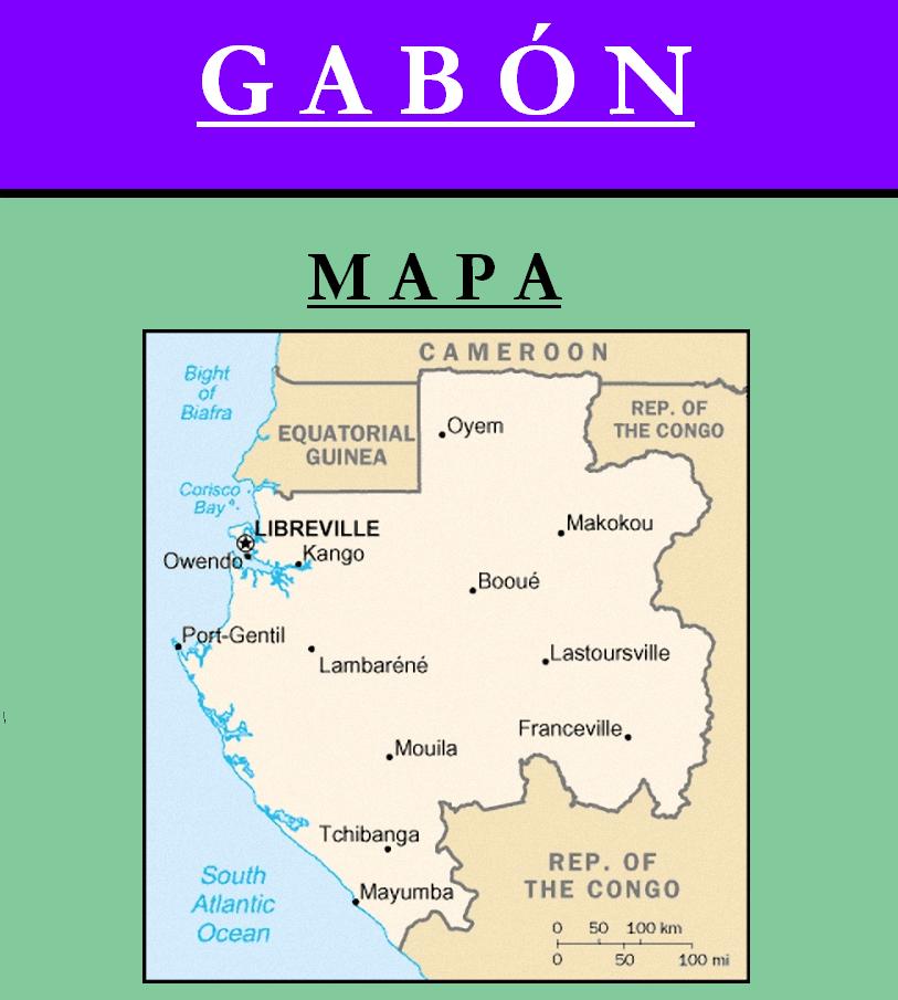 Escudo de MAPA DE GABÓN