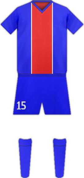 Equipación SOGÉA FC