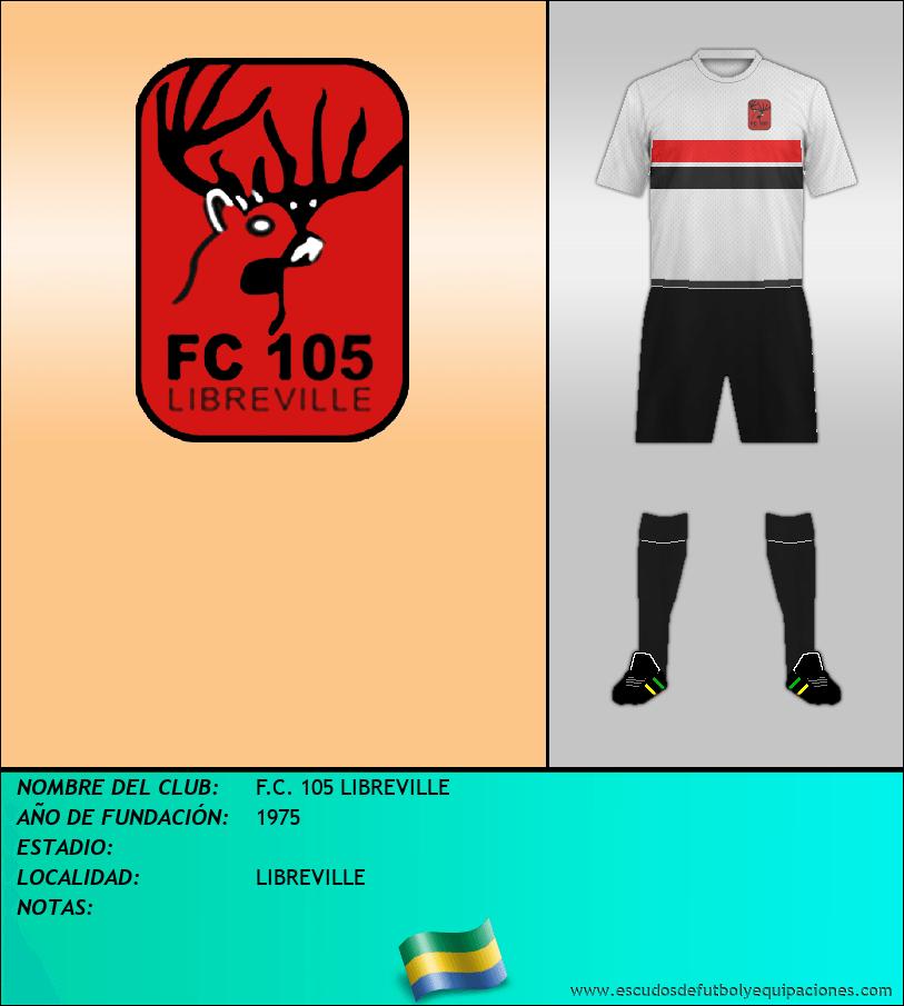 Escudo de F.C. 105 LIBREVILLE