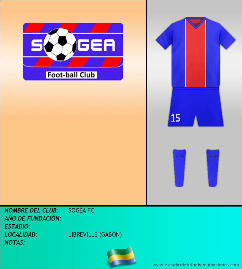 Escudo de SOGÉA FC