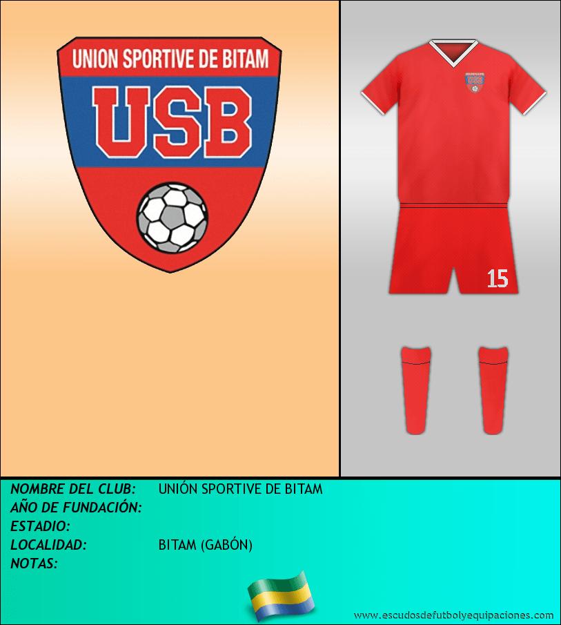 Escudo de UNIÓN SPORTIVE DE BITAM
