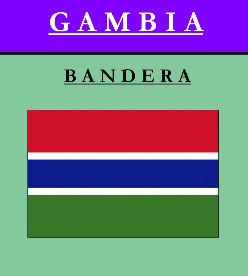 Escudo de BANDERA DE GAMBIA