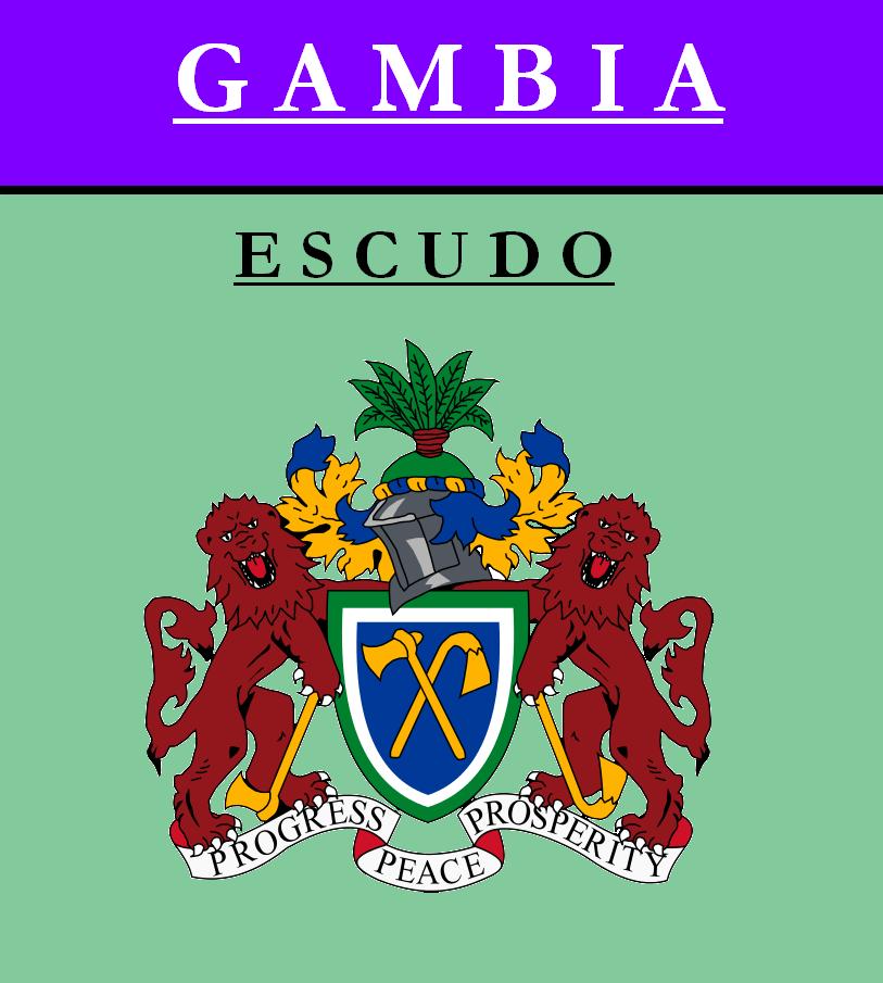 Escudo de ESCUDO DE GAMBIA