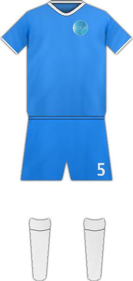 Equipación GANTEL F.C.