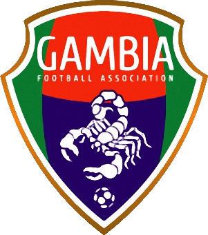 Escudo de 03 SLECCIÓN GAMBIANA DE FUTBOL (GAMBIA)