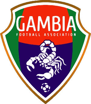 Escudo de SELECCIÓN DE GAMBIA (GAMBIA)