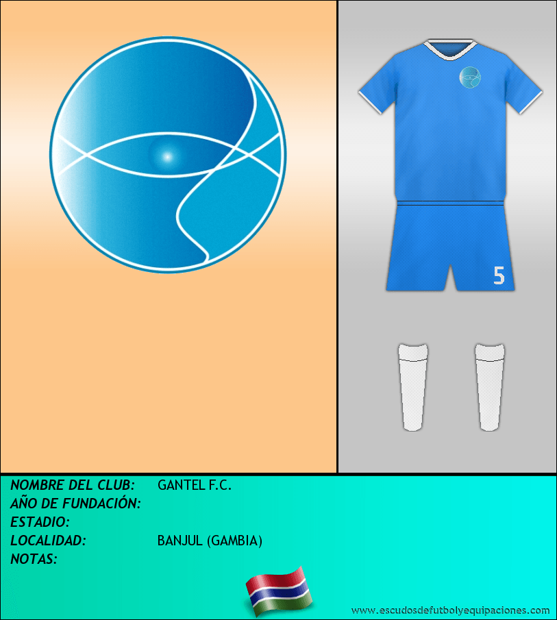 Escudo de GANTEL F.C.