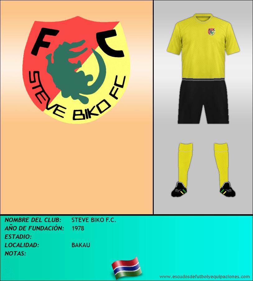 Escudo de STEVE BIKO F.C.