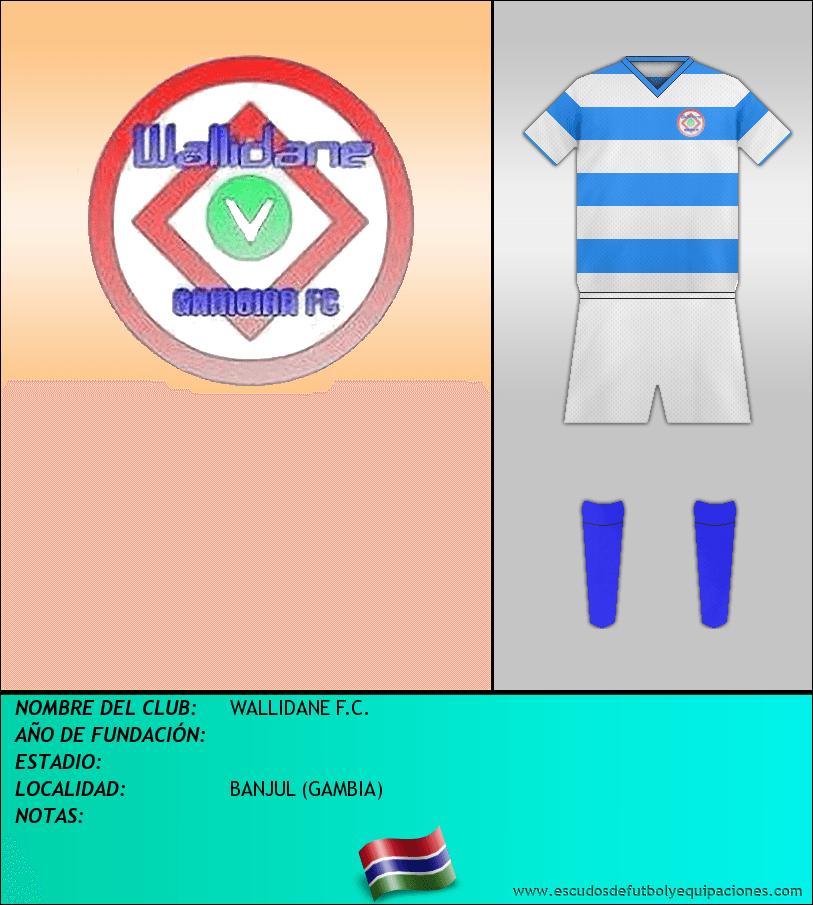 Escudo de WALLIDANE F.C.
