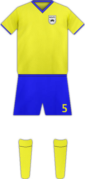 Equipación NEW EDUBIASE UNITED FC