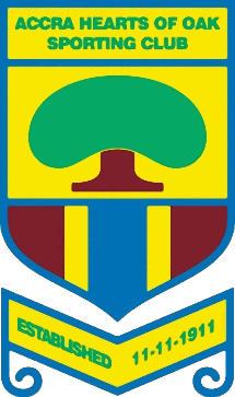 Escudo de ACCRA HEARTS OF OAH S.C. (GHANA)