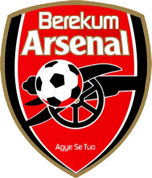 Escudo de BEREKUM ARSENAL F.C. (GHANA)