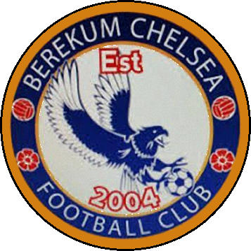 Escudo de BEREKUM CHELSEA F.C. (GHANA)