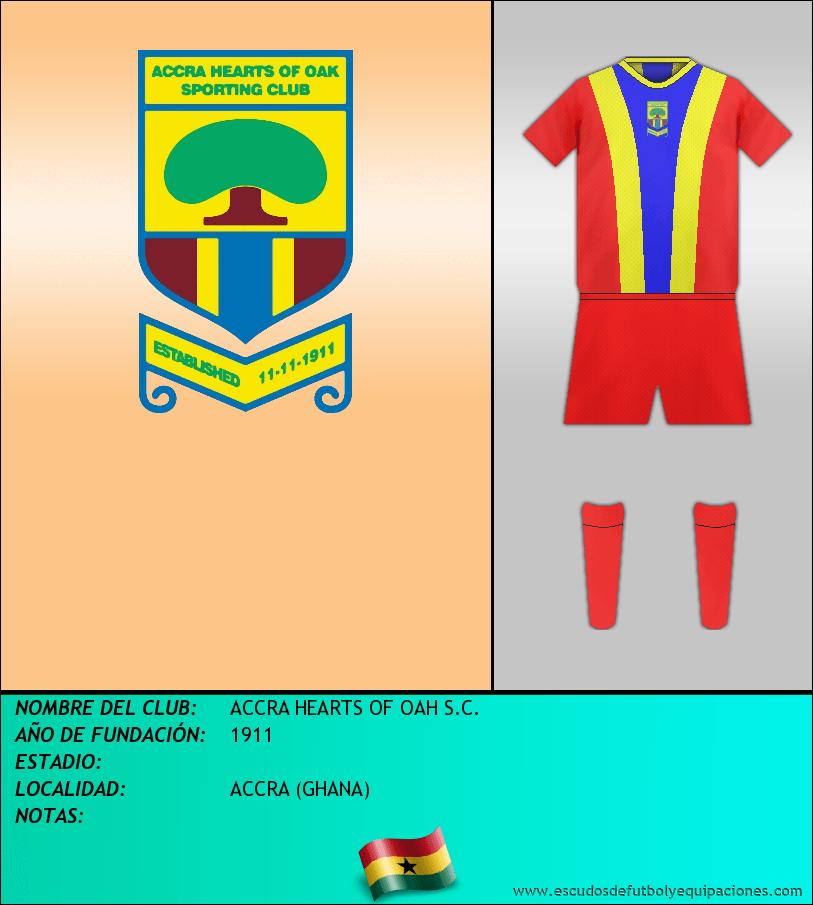 Escudo de ACCRA HEARTS OF OAH S.C.