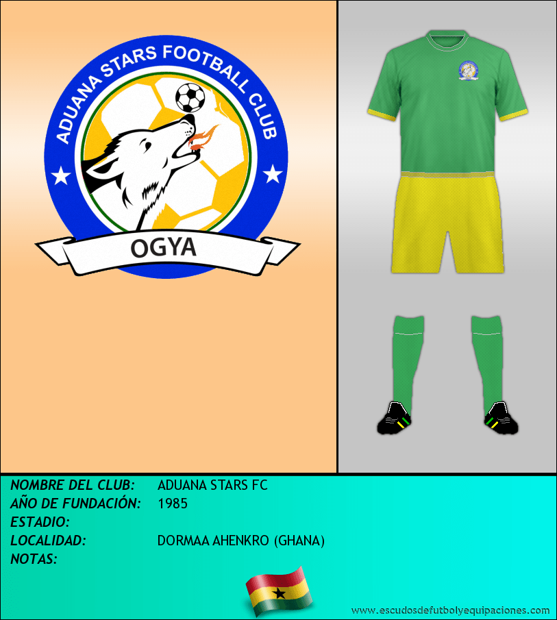 Escudo de ADUANA STARS FC