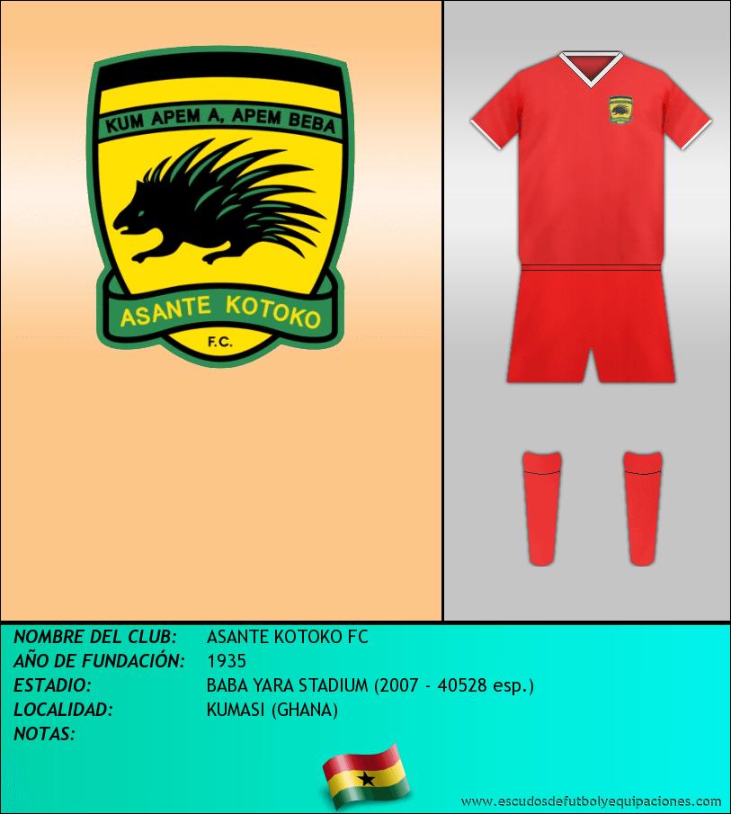 Escudo de ASANTE KOTOKO FC