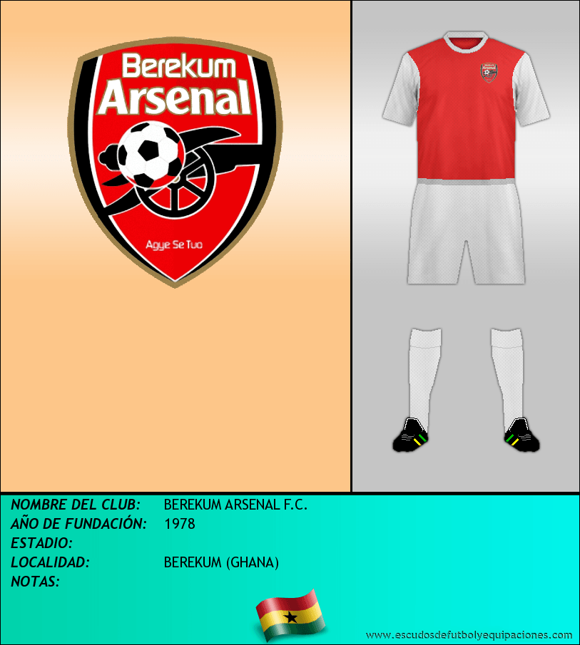 Escudo de BEREKUM ARSENAL F.C.