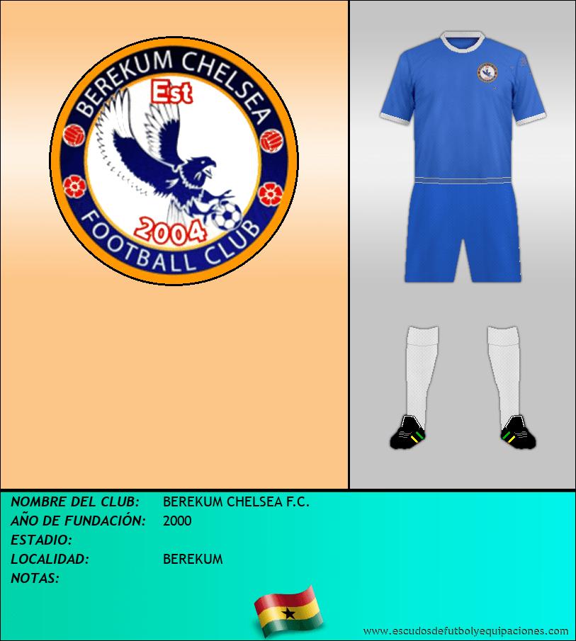 Escudo de BEREKUM CHELSEA F.C.