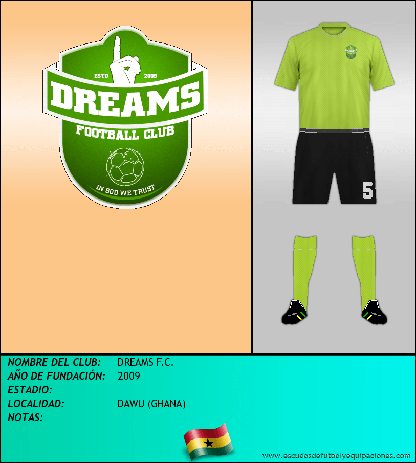 Escudo de DREAMS F.C.