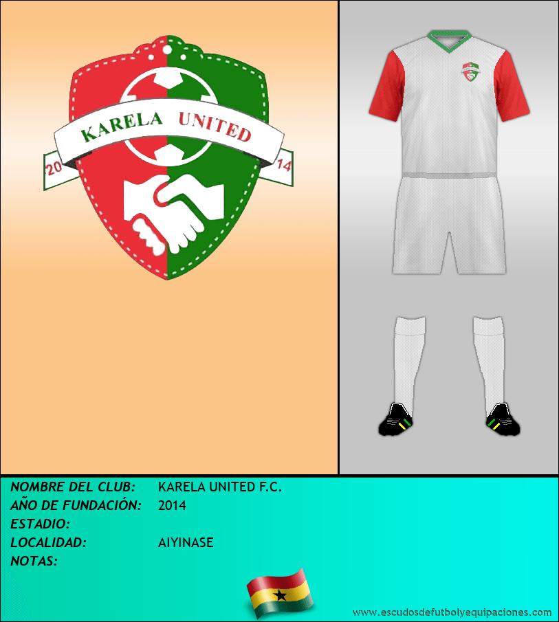 Escudo de KARELA UNITED F.C.