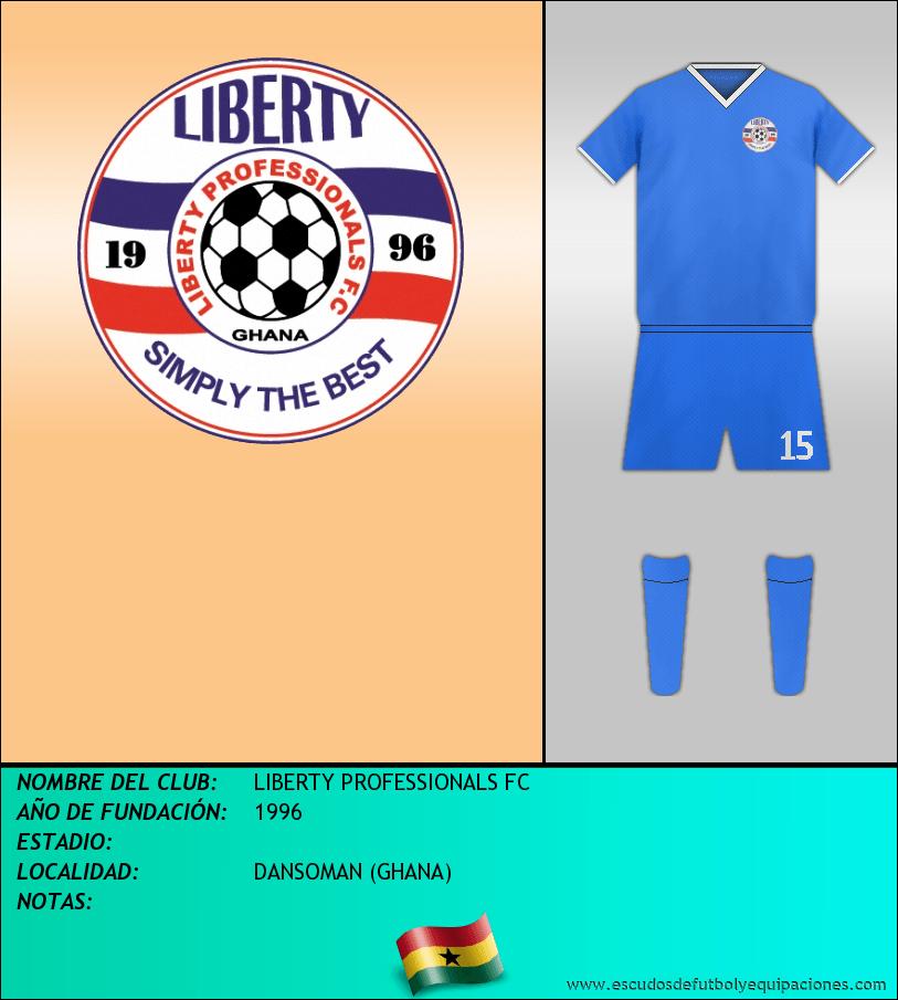 Escudo de LIBERTY PROFESSIONALS FC