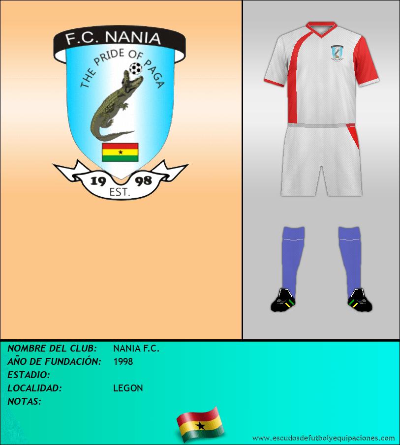 Escudo de NANIA F.C.