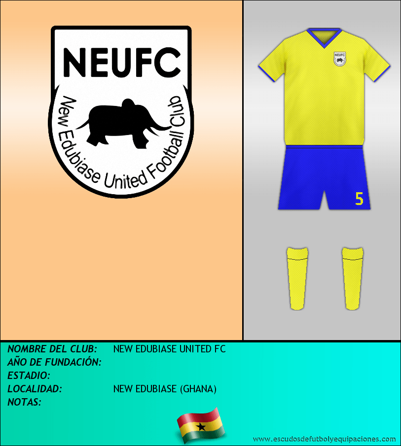 Escudo de NEW EDUBIASE UNITED FC