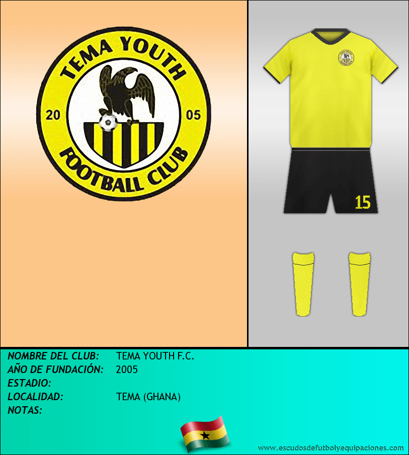 Escudo de TEMA YOUTH F.C.
