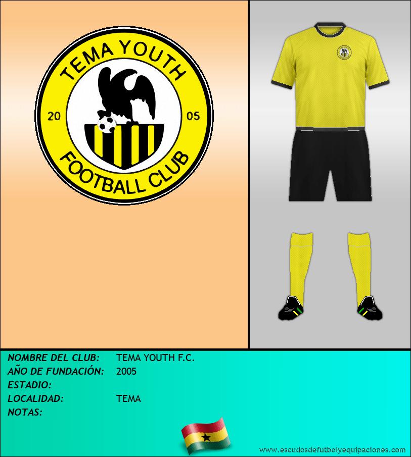 Escudo de TEMA YOUTH F.C.