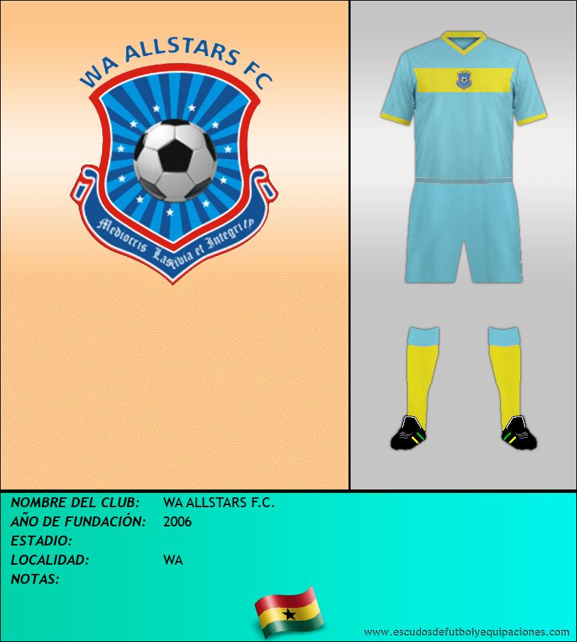 Escudo de WA ALLSTARS F.C.