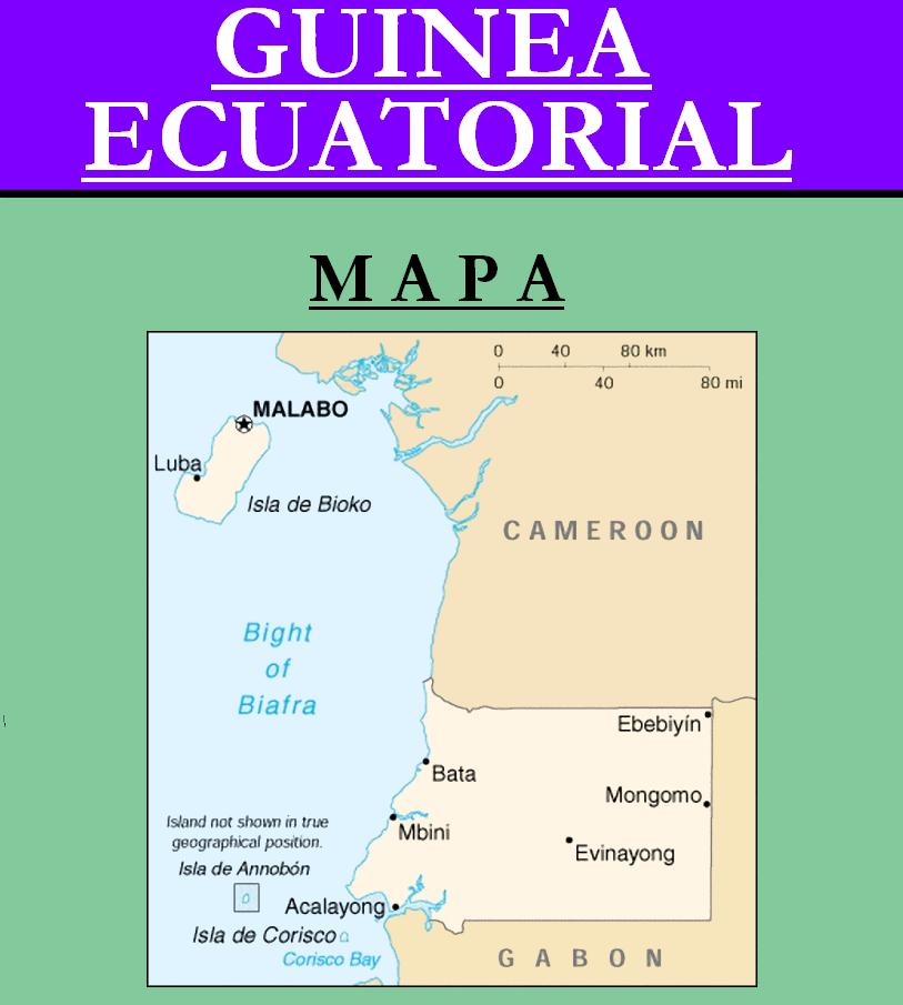 Escudo de MAPA DE GUINEA ECUATORIAL