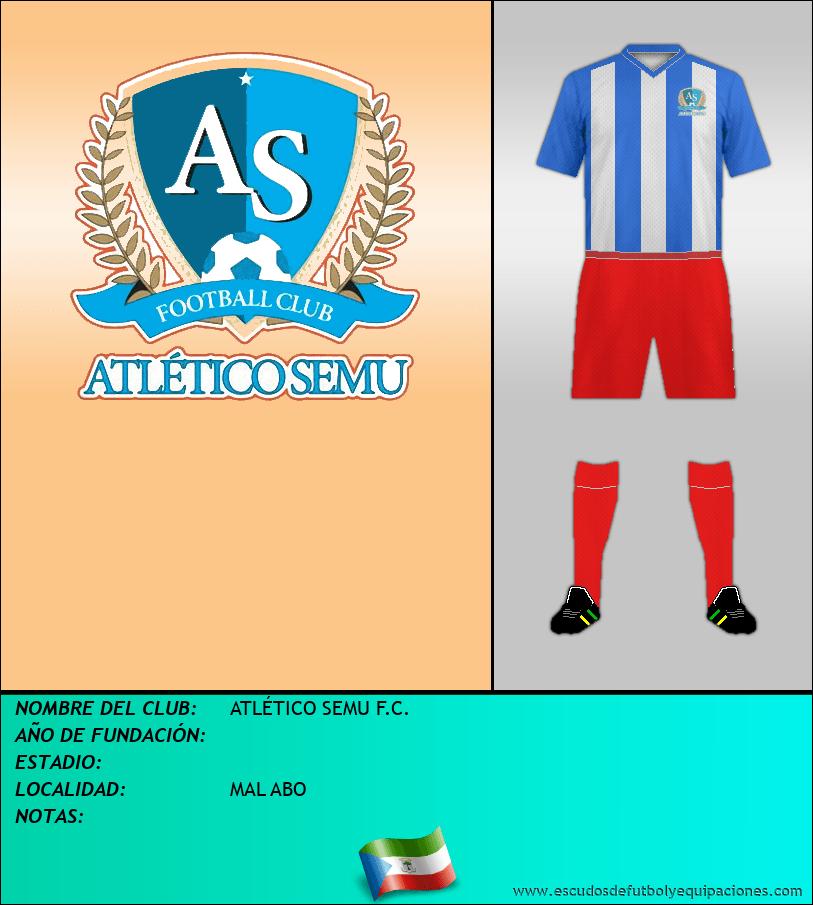 Escudo de ATLÉTICO SEMU F.C.