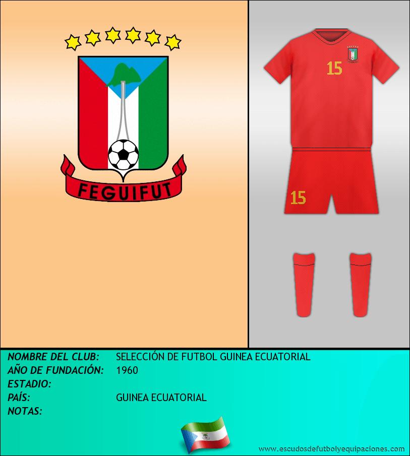 Escudo de SELECCIÓN DE FUTBOL GUINEA ECUATORIAL