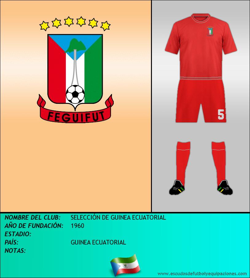 Escudo de SELECCIÓN DE GUINEA ECUATORIAL
