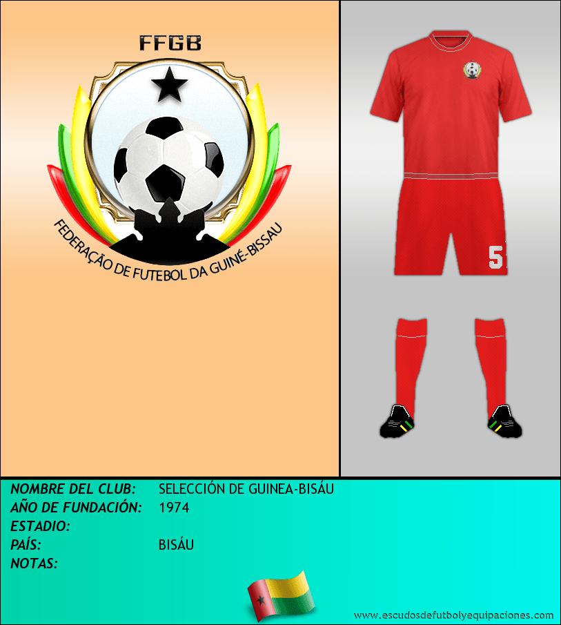 Escudo de SELECCIÓN DE GUINEA-BISÁU