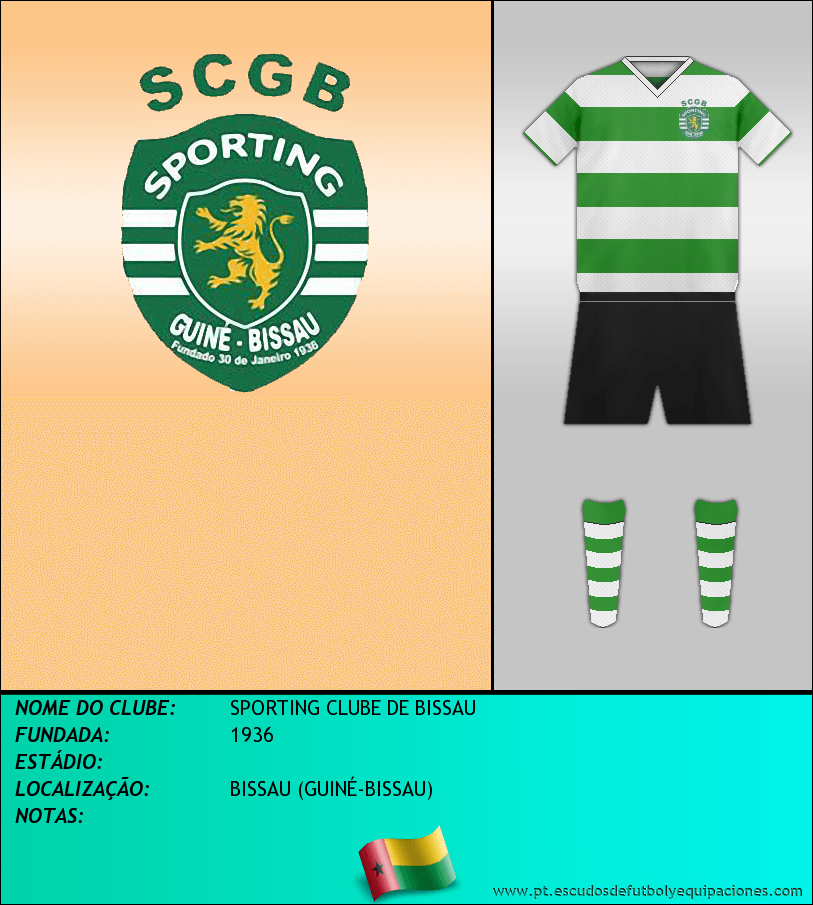 Escudo de SPORTING CLUBE DE BISSAU
