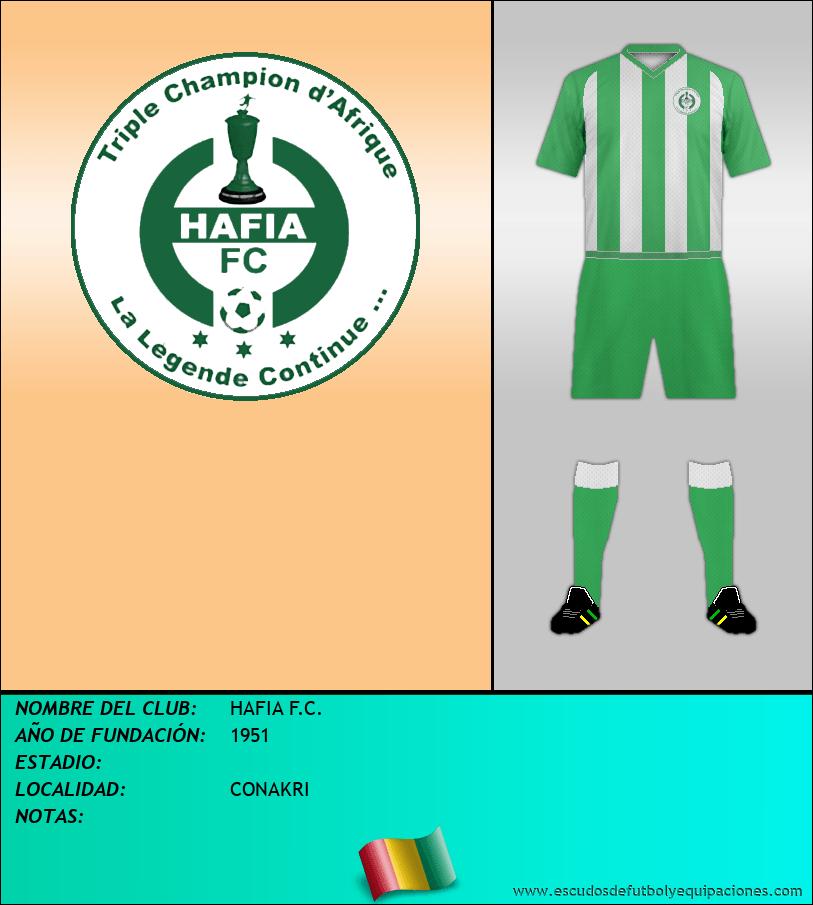 Escudo de HAFIA F.C.