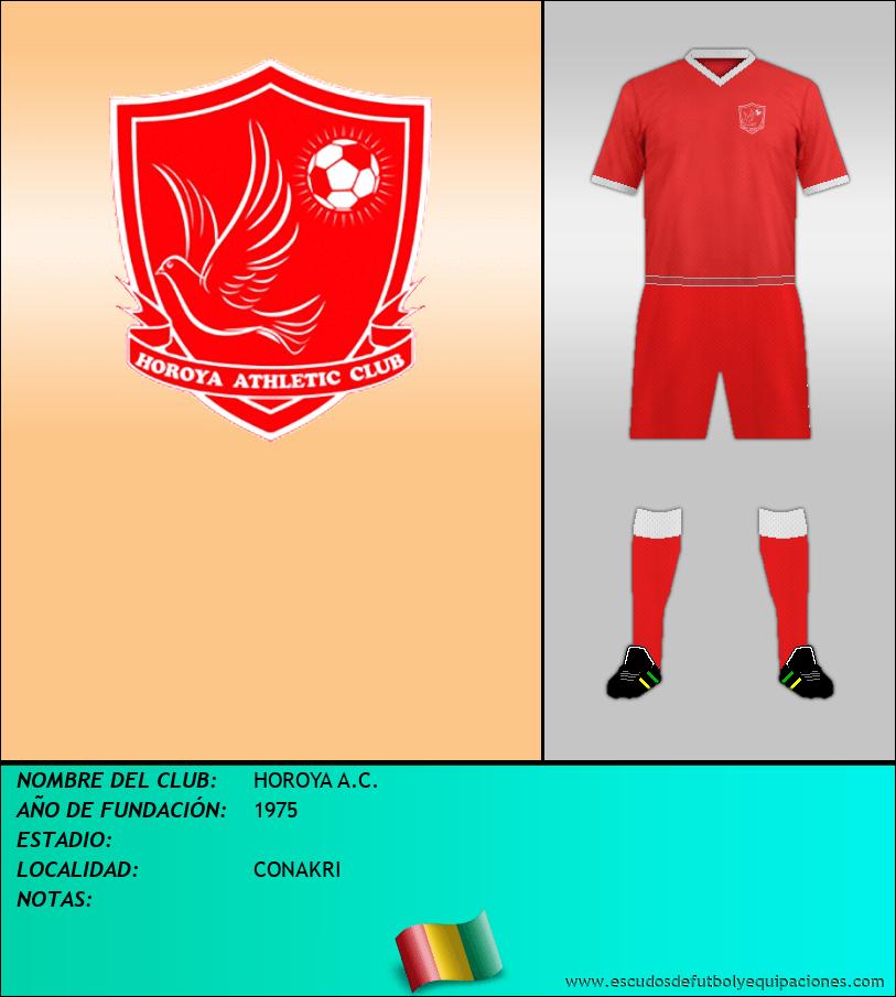 Escudo de HOROYA A.C.