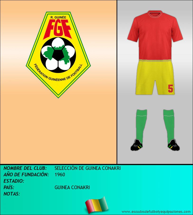 Escudo de SELECCIÓN DE GUINEA CONAKRI