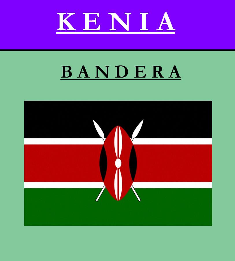 Escudo de BANDERA DE KENIA