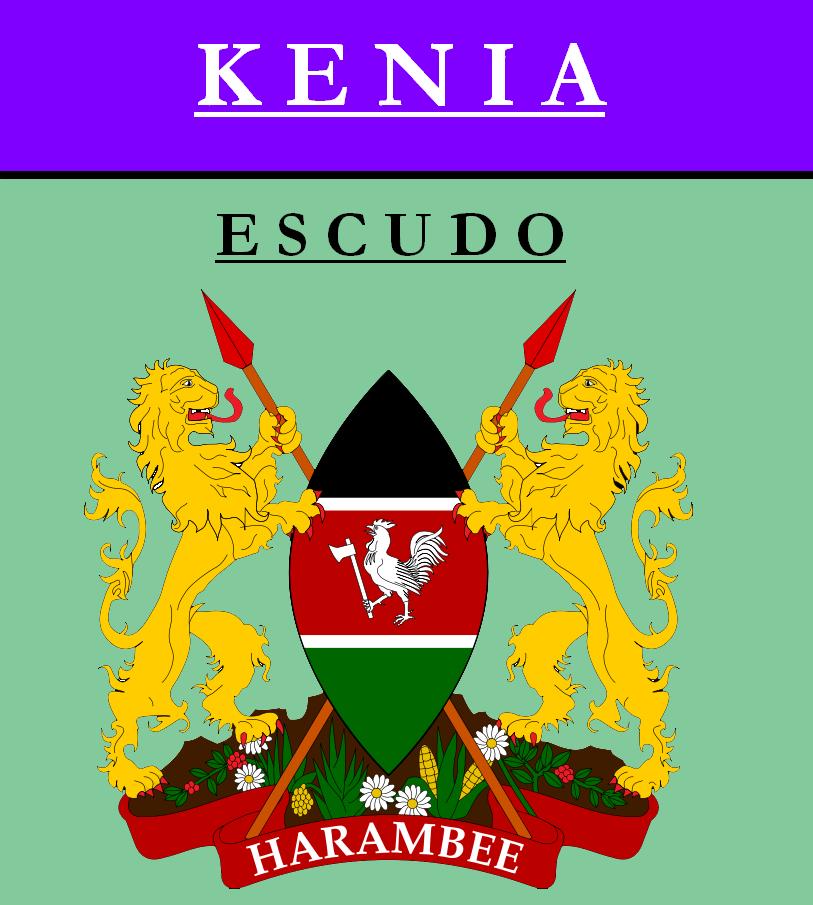 Escudo de ESCUDO DE KENIA