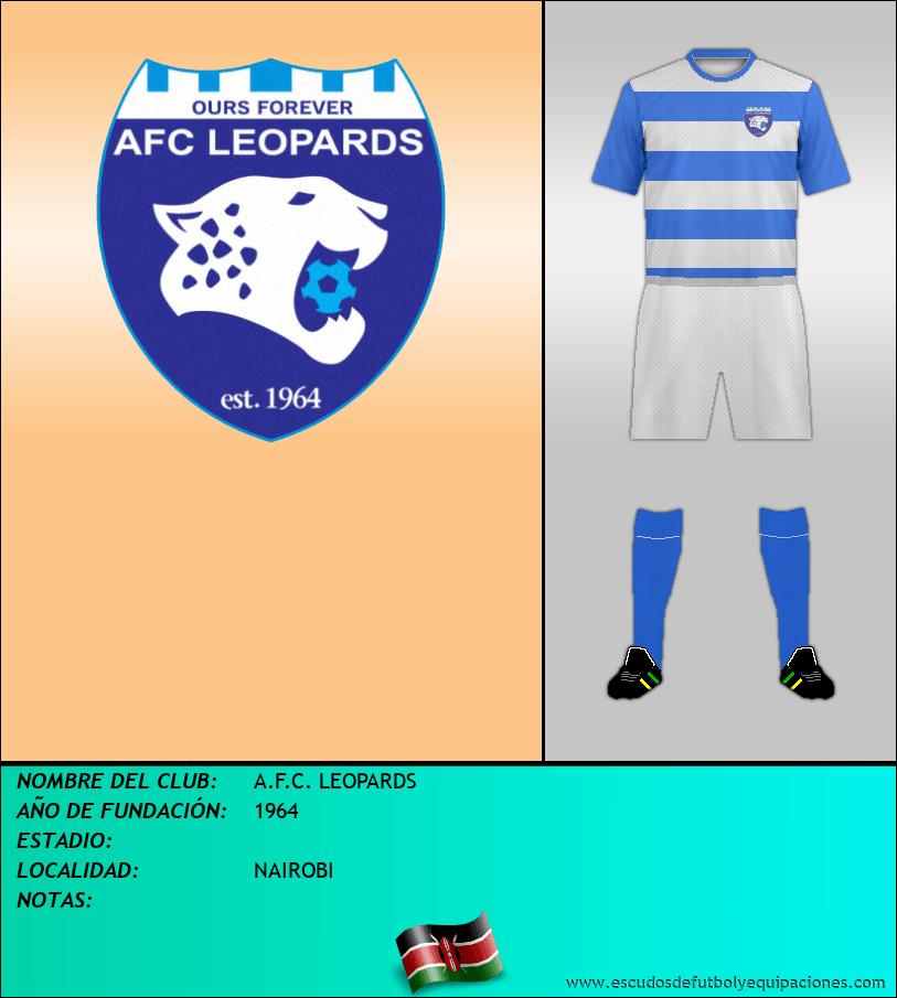 Escudo de A.F.C. LEOPARDS
